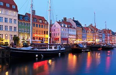 Denmark 페리