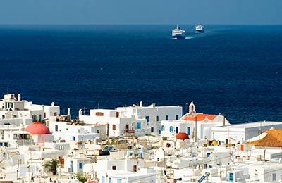 Greece 행 페리